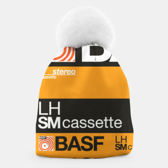 Thumbnail image of Fashion items of Cassette Tape BASF 60 Beanie, Live Heroes