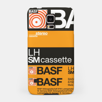 Thumbnail image of Fashion items of Cassette Tape BASF 60 Samsung Case, Live Heroes