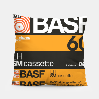 Thumbnail image of Fashion items of Cassette Tape BASF 60 Pillow, Live Heroes