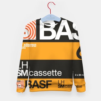 Thumbnail image of Fashion items of Cassette Tape BASF 60 Kid's sweater, Live Heroes
