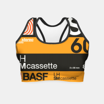 Thumbnail image of Fashion items of Cassette Tape BASF 60 Crop Top, Live Heroes