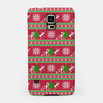 Thumbnail image of Bad Santa and his deer Samsung Case, Live Heroes