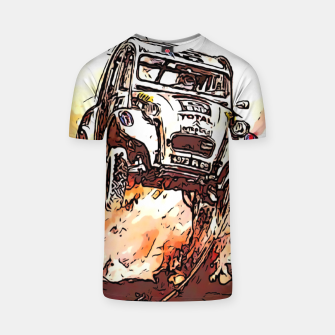 Thumbnail image of Fashion items of Advertising Poster by Citroen 2cv T-shirt, Live Heroes