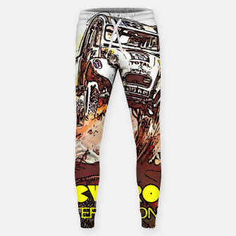 Thumbnail image of Fashion items of Advertising Poster by Citroen 2cv Sweatpants, Live Heroes