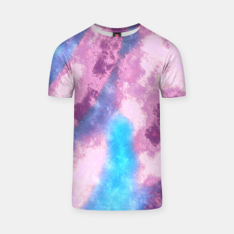 Thumbnail image of Abstrait Dégradé Rose/Violet/Bleu T-shirt, Live Heroes
