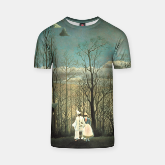 Thumbnail image of Fashion items of Henri Rousseau painting - A Carnival Evening T-shirt, Live Heroes