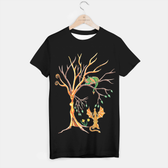 Thumbnail image of dragon hide and seek t shirt, Live Heroes