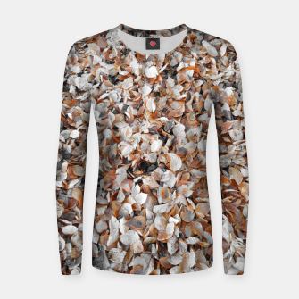 Thumbnail image of Feuilles d'automne  Pull femme , Live Heroes