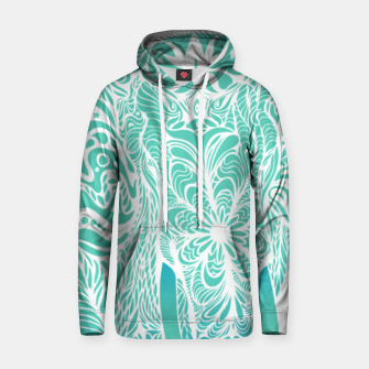 Thumbnail image of Not a circus turquoise elephant by #Bizzartino Hoodie, Live Heroes