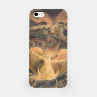Miniature de image de Fashion items of William Blake painting, The Great Red Dragon and the woman  clothed with the sun iPhone Case, Live Heroes