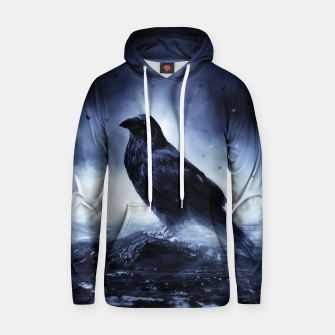Thumbnail image of Raven in mystical Light  Kapuzenpullover, Live Heroes