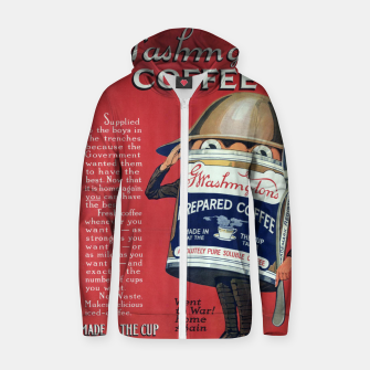Thumbnail image of Fashion items of Washington Coffee advert in New York Tribune Zip up hoodie, Live Heroes