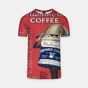 Thumbnail image of Fashion items of Washington Coffee advert in New York Tribune T-shirt, Live Heroes