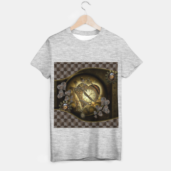 Miniatur Awesome steampunk heart T-shirt regular, Live Heroes