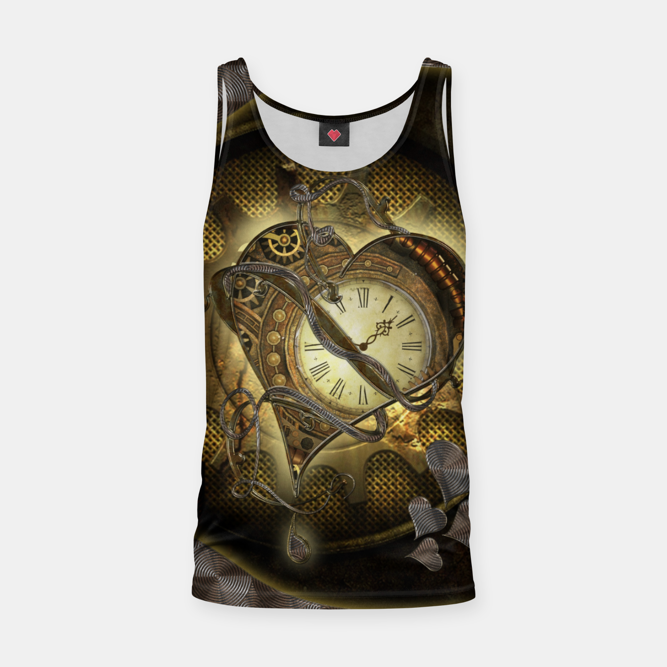 Image of Awesome steampunk heart Tank Top - Live Heroes