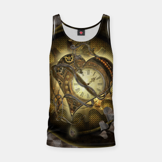 Thumbnail image of Awesome steampunk heart Tank Top, Live Heroes