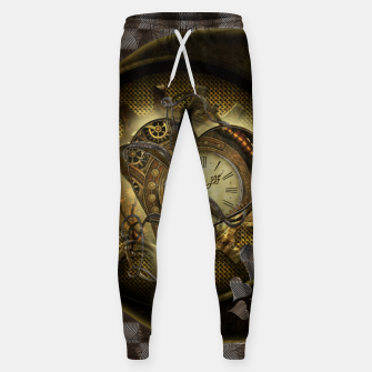 Thumbnail image of Awesome steampunk heart Sweatpants, Live Heroes