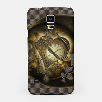 Miniatur Awesome steampunk heart Samsung Case, Live Heroes