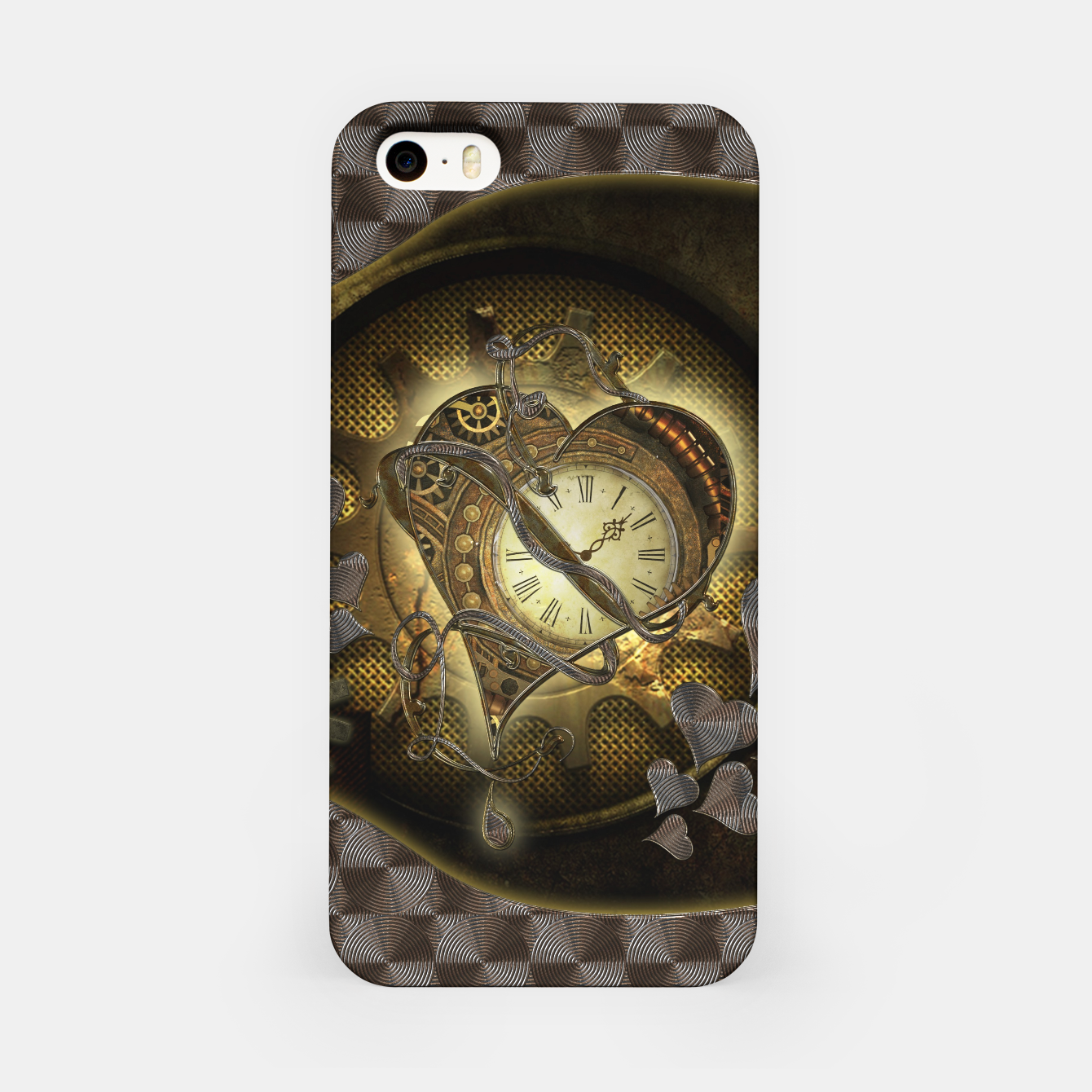 Image de Awesome steampunk heart iPhone Case - Live Heroes