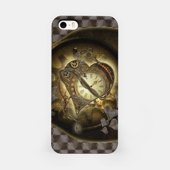 Thumbnail image of Awesome steampunk heart iPhone Case, Live Heroes