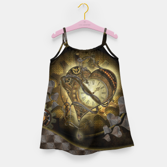 Miniatur Awesome steampunk heart Girl's dress, Live Heroes