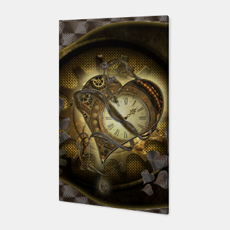 Miniatur Awesome steampunk heart Canvas, Live Heroes