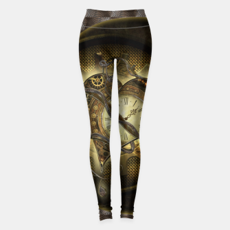 Miniatur Awesome steampunk heart Leggings, Live Heroes