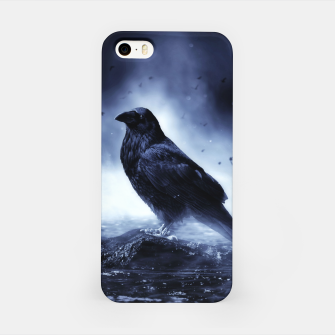 Thumbnail image of Raven in mystical Light  iPhone-Hülle, Live Heroes