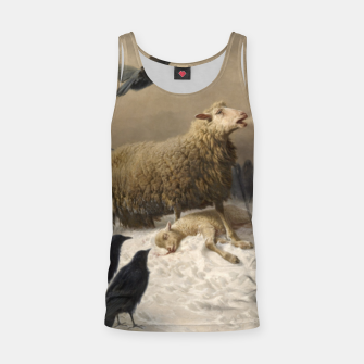 Thumbnail image of Fashion items of August Friedrich Schenck painting  Anguish Tank Top, Live Heroes
