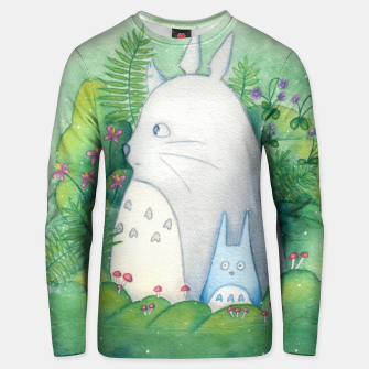 Thumbnail image of Forest Spirit ~ My Neighbor Totoro  Unisex Sweater, Live Heroes
