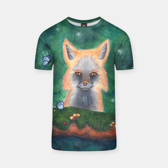 Thumbnail image of Sweet Boy~ Fox T-shirt, Live Heroes