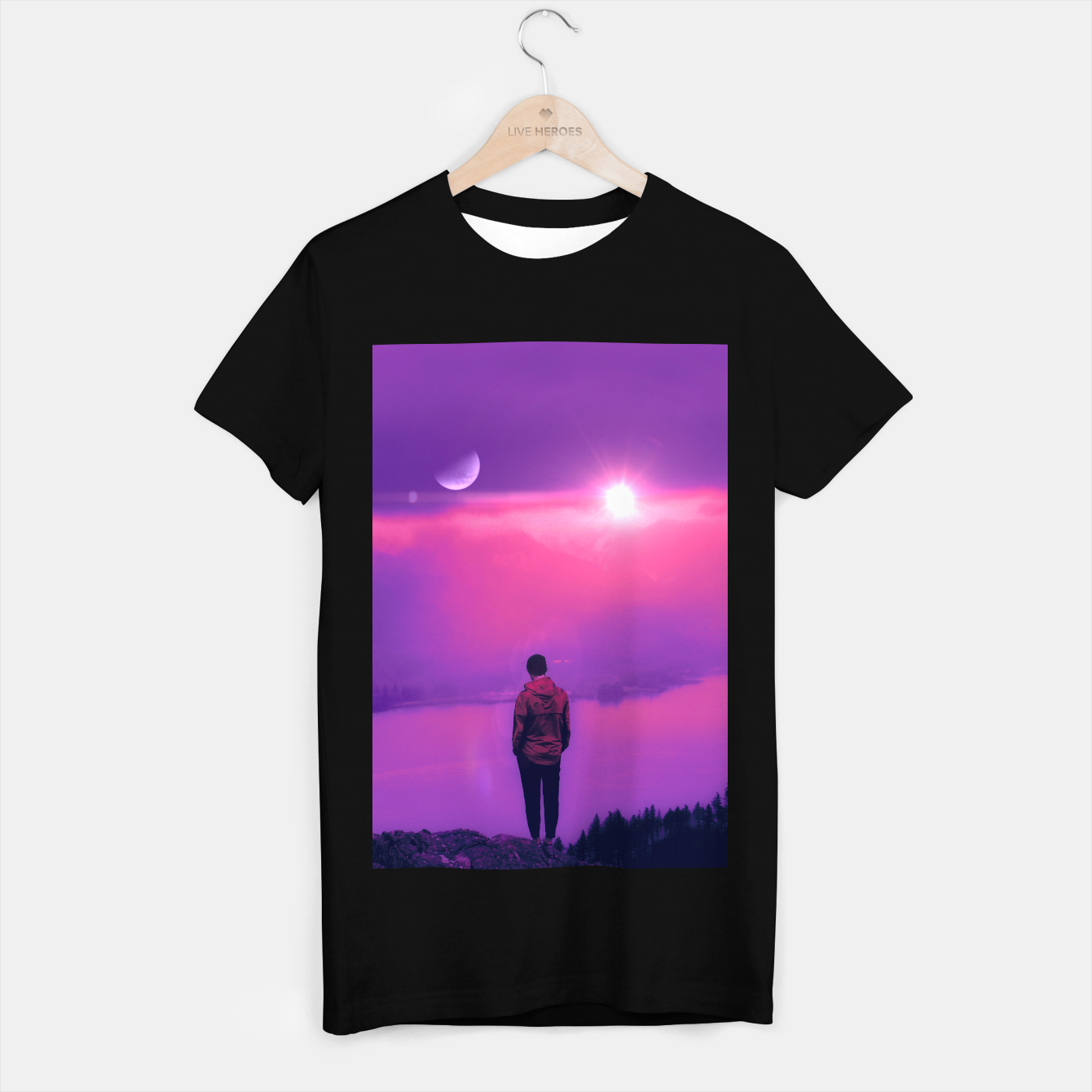 Image of Finding Out the Truth T-shirt regular - Live Heroes