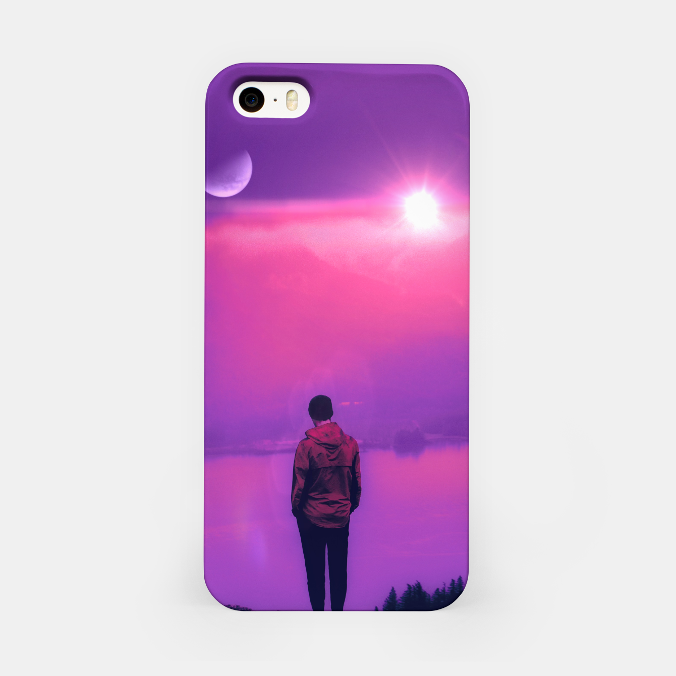 Image of Finding Out the Truth iPhone Case - Live Heroes