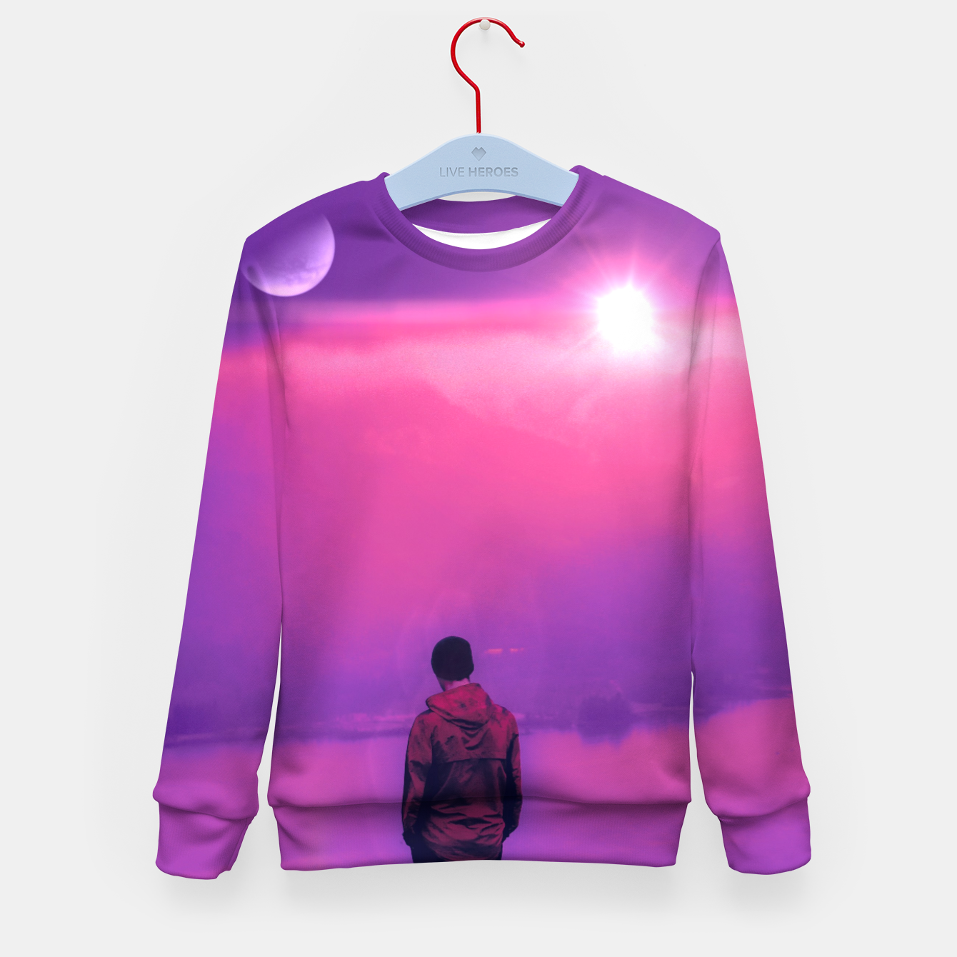 Image of Finding Out the Truth Kid's sweater - Live Heroes