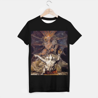 Miniaturka Fashion items of William Blake painting The number of the Beast, 666 T-shirt regular, Live Heroes