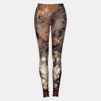 Miniaturka Fashion items of William Blake painting The number of the Beast, 666 Leggings, Live Heroes