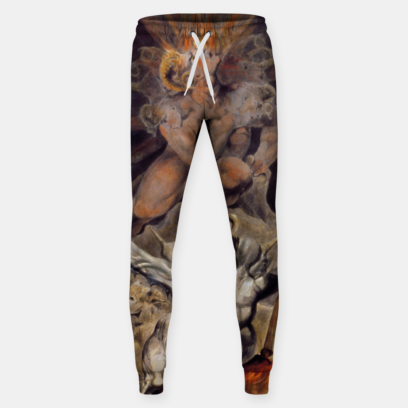 Zdjęcie Fashion items of William Blake painting The number of the Beast, 666 Sweatpants - Live Heroes