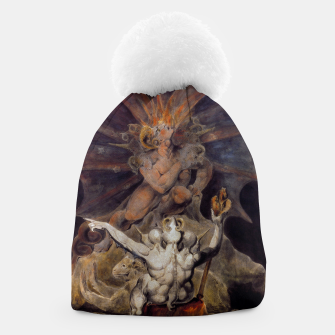 Miniaturka Fashion items of William Blake painting The number of the Beast, 666 Beanie, Live Heroes