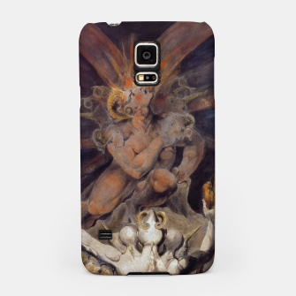 Miniaturka Fashion items of William Blake painting The number of the Beast, 666 Samsung Case, Live Heroes