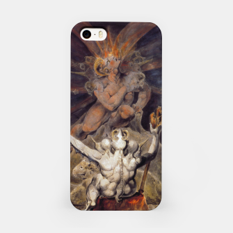 Miniaturka Fashion items of William Blake painting The number of the Beast, 666 iPhone Case, Live Heroes