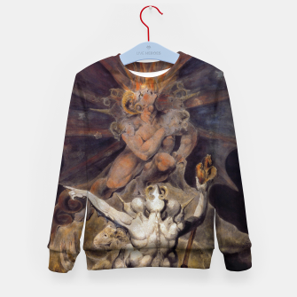 Miniaturka Fashion items of William Blake painting The number of the Beast, 666 Kid's sweater, Live Heroes