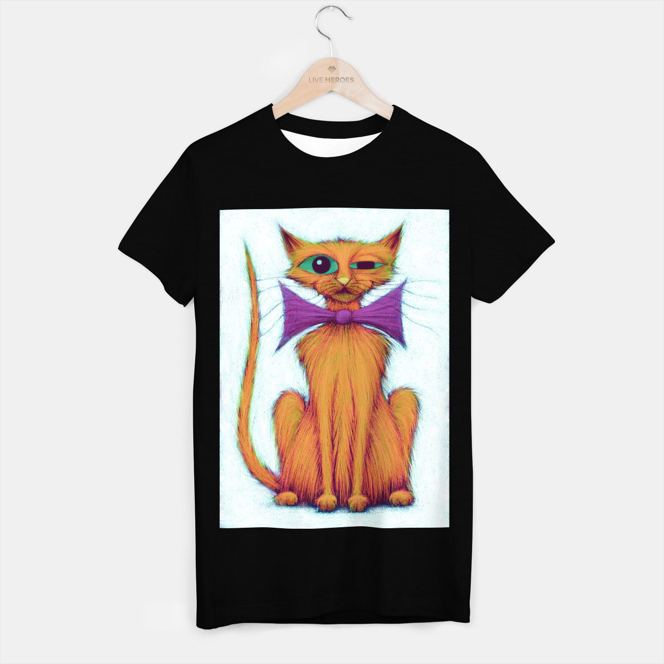 Image of Harry the cat T-shirt regular - Live Heroes