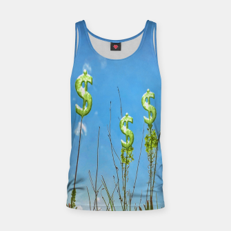 Thumbnail image of Wealth Sower Concept Artwork  Tank Top, Live Heroes