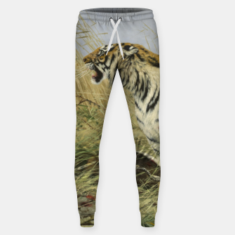 Miniatur Fashion items of Richard Friese painting, Tiger With Antelope Sweatpants, Live Heroes