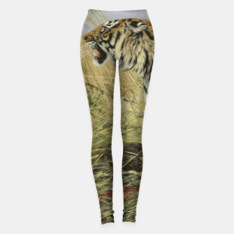 Miniatur Fashion items of Richard Friese painting, Tiger With Antelope Leggings, Live Heroes