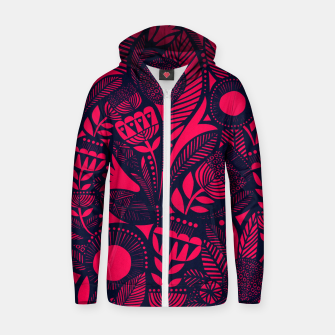 Miniaturka Beautiful Moroccan Followed traditional Anthropologie Artwork Zip up hoodie, Live Heroes