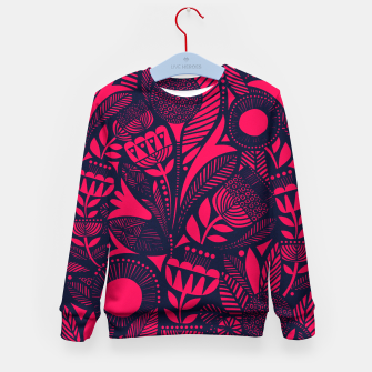 Thumbnail image of Beautiful Moroccan Followed traditional Anthropologie Artwork Kid's sweater, Live Heroes