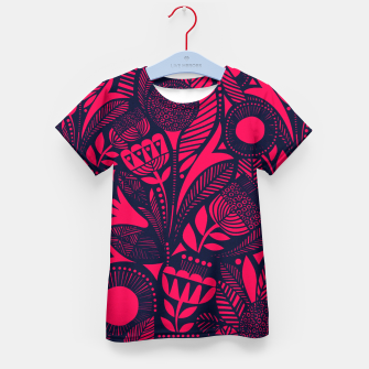 Thumbnail image of Beautiful Moroccan Followed traditional Anthropologie Artwork Kid's t-shirt, Live Heroes