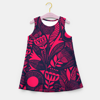Thumbnail image of Beautiful Moroccan Followed traditional Anthropologie Artwork Girl's summer dress, Live Heroes