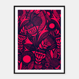 Thumbnail image of Beautiful Moroccan Followed traditional Anthropologie Artwork Framed poster, Live Heroes